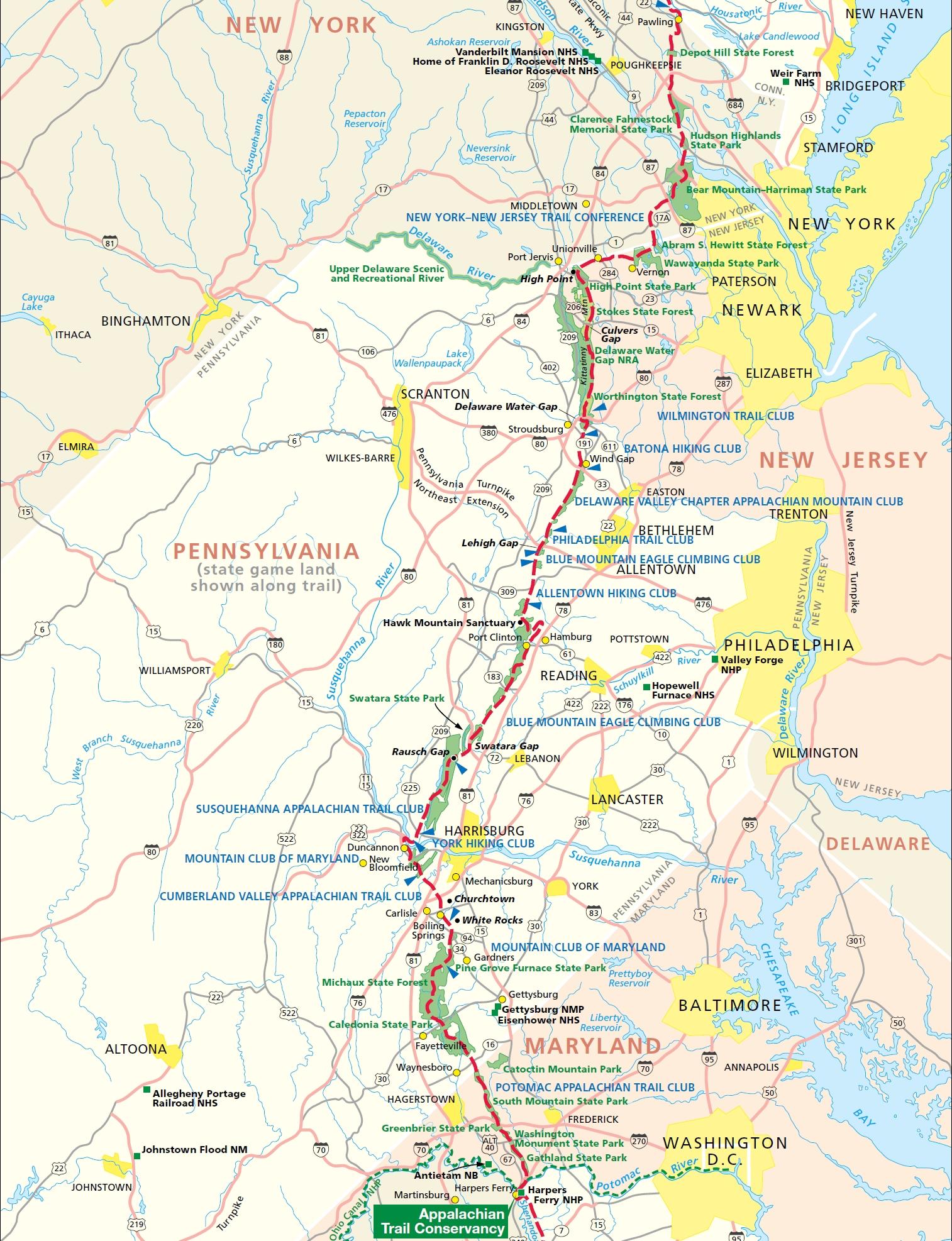 Appalachian 5 Etappe